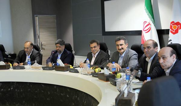 تاکید مدیران عامل بانک ملت و شرکت پخش فرآورده های نفتی بر تقویت همکاری ها