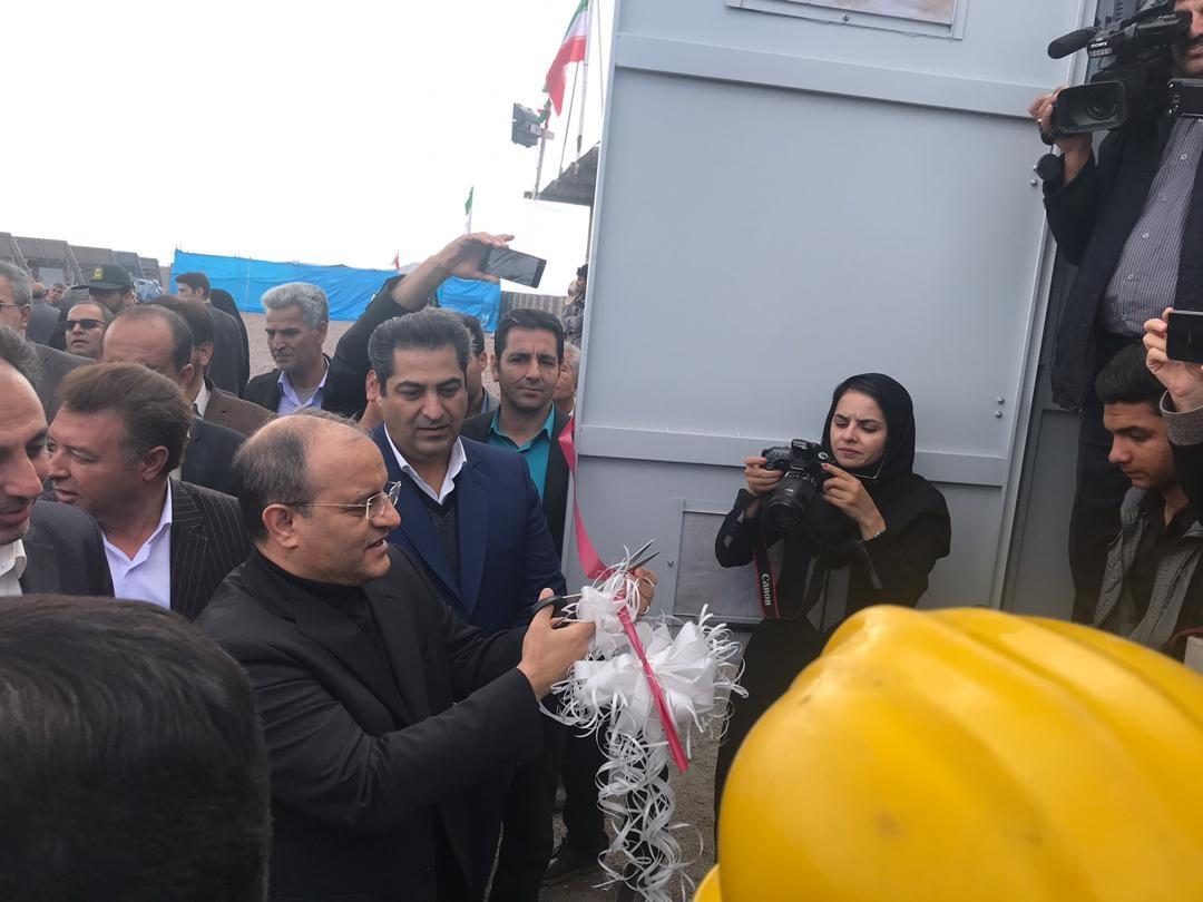 بهرهبرداری از نیروگاه خورشیدی آراد شهرستان سیرجان با حضور مدیرعامل بانک توسعه تعاون