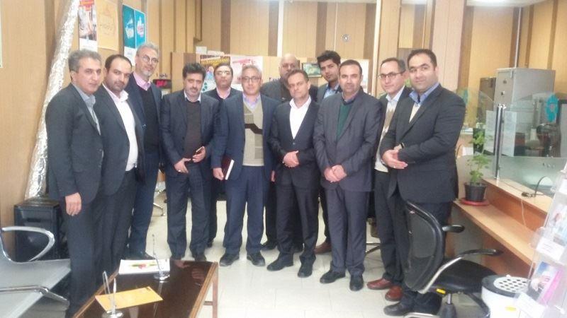 بازدید عباس نجفی عضو هیئتمدیره بانک توسعه تعاون از استان گلستان