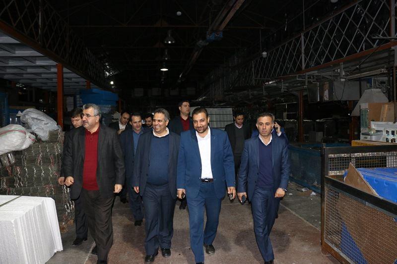 بازدید بانک توسعه تعاون از شرکتهای بزرگ و فعال استان خراسان رضوی