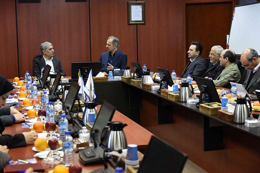 ترسیم فصلی نوین در تعاملات متقابل بانک ملی ایران و شرکت خدمات انفورماتیک