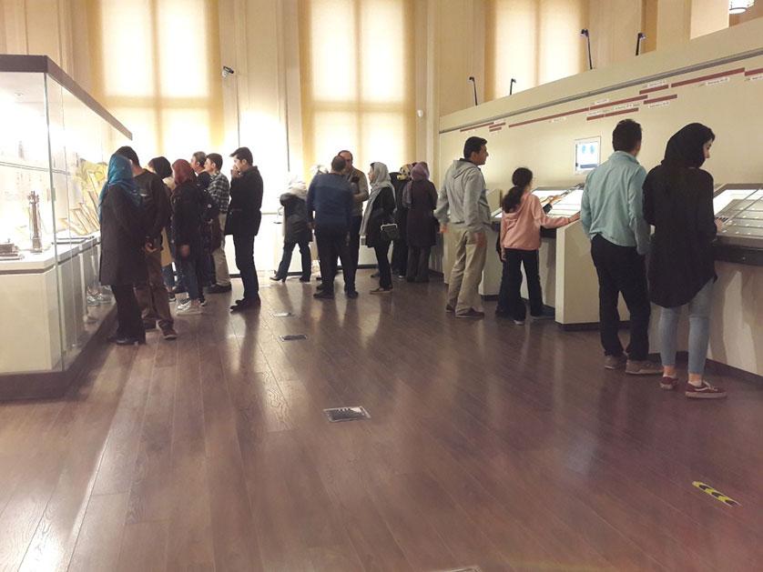 استقبال کم نظیر از موزه بانک ملی ایران در ایام نوروز