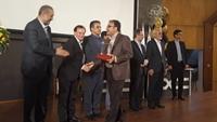 تندیس ستاره ملی روابط عمومی به بانک سپه اهدا شد