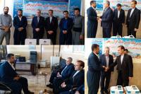 تحویل دو دستگاه نوار قلب به بیمارستان شهرستان ثلاث باباجانی