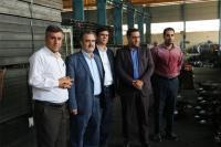 بازدید مدیراستانی بانک ایران زمین از کارخانه پروفیل فولاد آپادانا