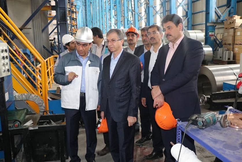 تاکید عضو هیات مدیره بانک ملی ایران بر حمایت از تولید و اشتغال