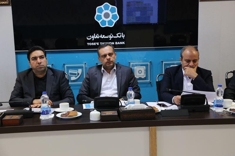 سی درصد درآمد غیر مشاع بانک توسعه تعاون حاصل از استان اصفهان است
