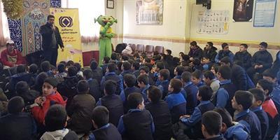 اجرای نمایش های بیمه ای در مدارس پایتخت