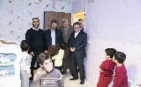 بازدید مدیرعامل بانک ملت از موسسه خیریه بهشت امام رضا (ع)