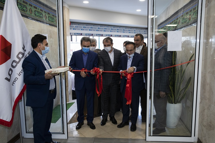 افتتاح ساختمان شهید سردار سلیمانی بیمه ما با حضور رییس کل بیمه مرکزی و مدیرعامل بانک ملت