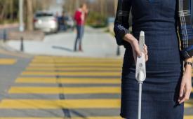 ابداع عصای هوشمند برای نابینایان